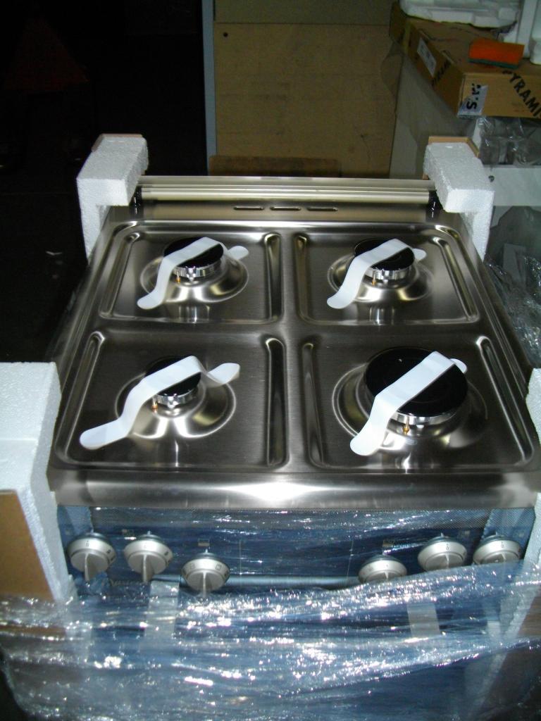 Kuchnia elektryczna z płytą gazową Mastercook KGE 3444 LUX   -> Plyta Gazowa Mastercook Future