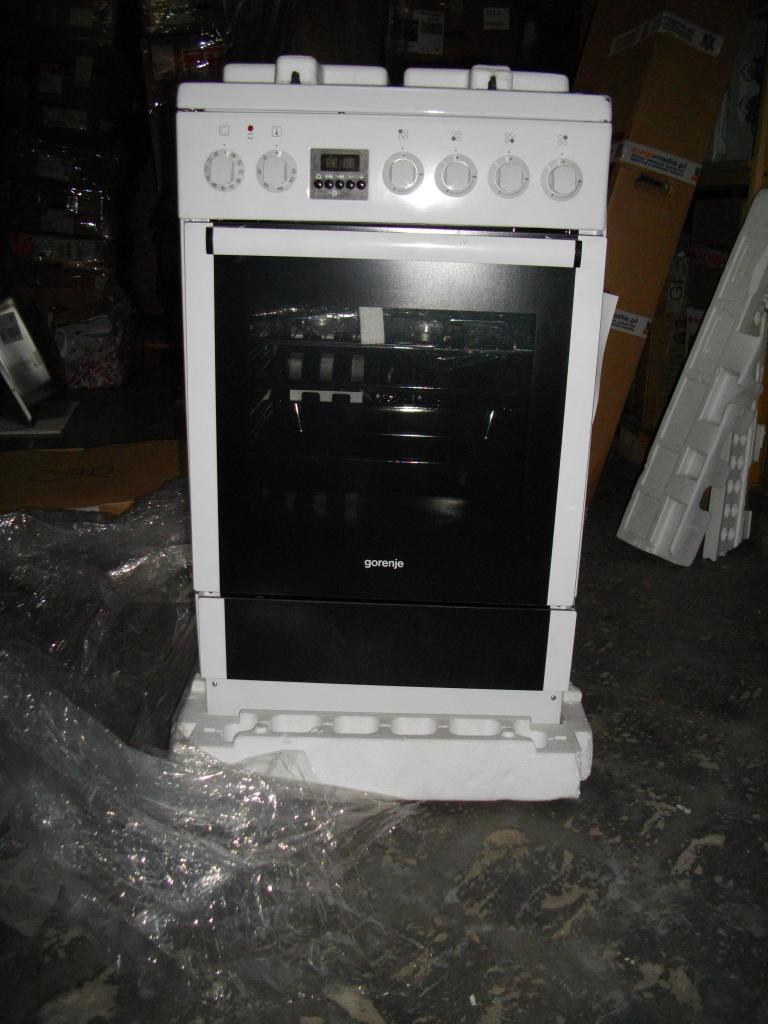 Kuchnia elektryczna z płytą gazową Gorenje K 57364 AWG [933]