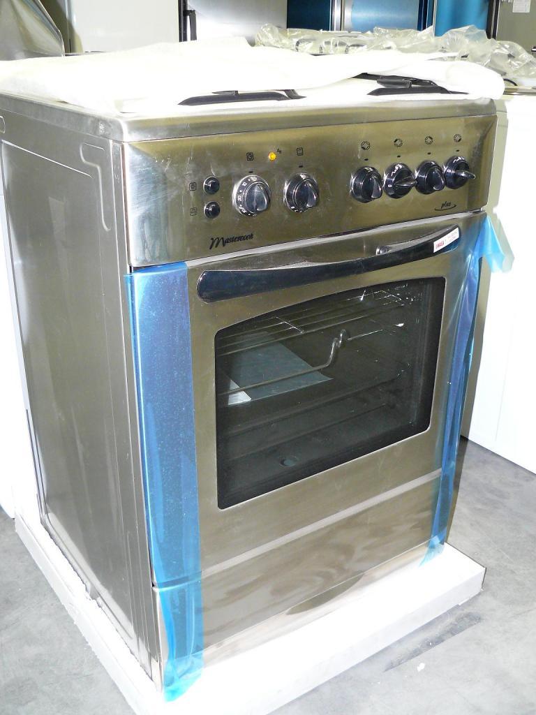 Kuchnia elektryczna z płytą gazową Mastercook KGE 3485 X   -> Plyta Gazowa Mastercook Future