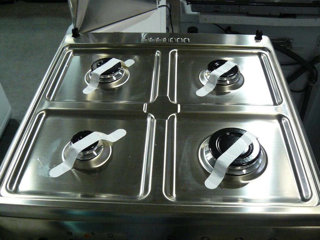 Kuchnia elektryczna z płytą gazową Mastercook KGE 3485 X FUTURE [378]
